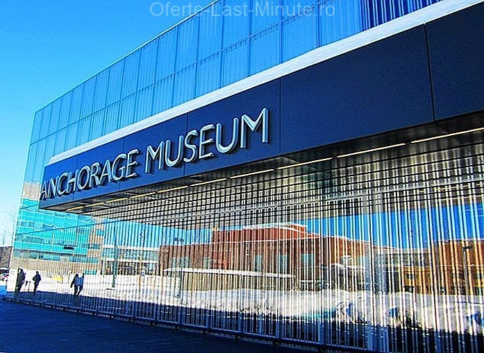 Muzeul Anchorage din centrul Rasmuson