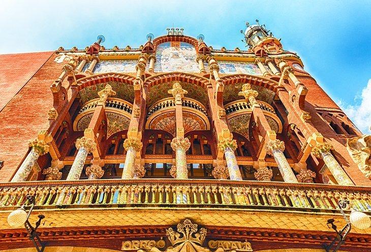 Palau de la Música Catalana (Palatul muzicii catalane)