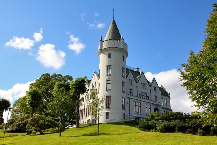 Gamlehaugen: reședința regală