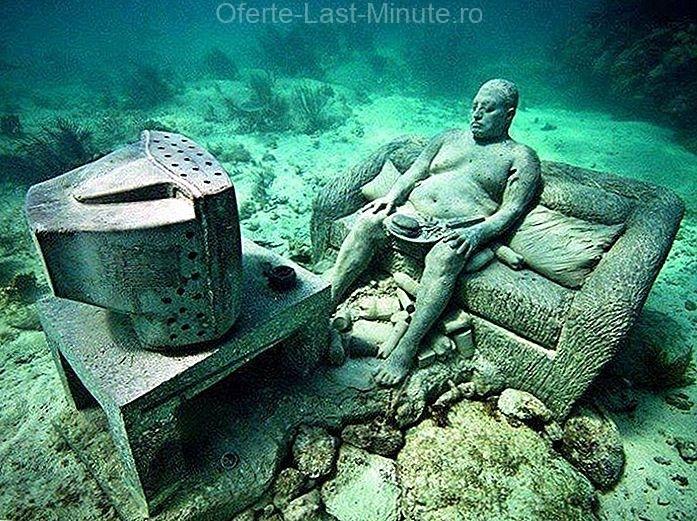 Muzeul Cancun subacvatic