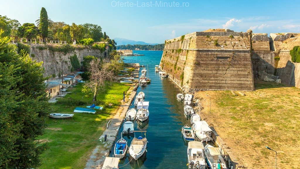 Fortaretele din Corfu