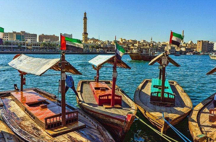 Patrimoniul maritim la Dubai Creek și districtul Al Seef