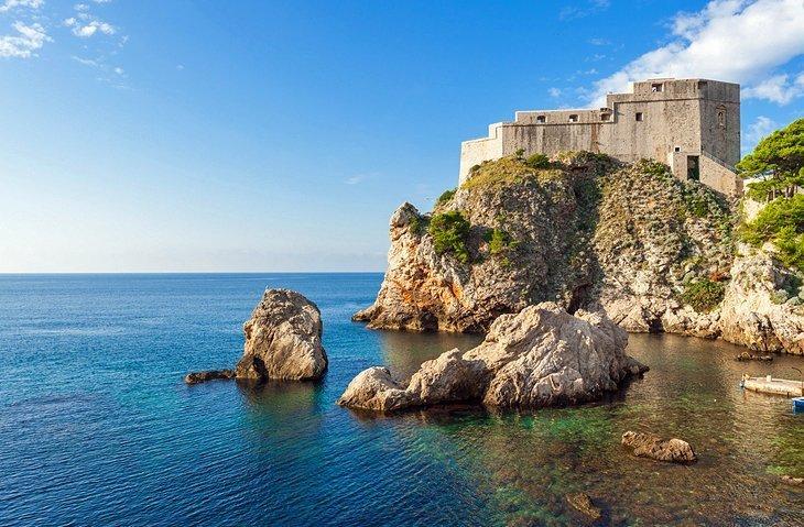Gibraltarul din Dubrovnik: Fortul Lovrijenac
