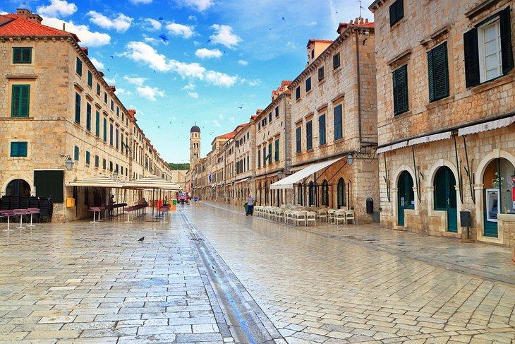 Stradun din Dubrovnik