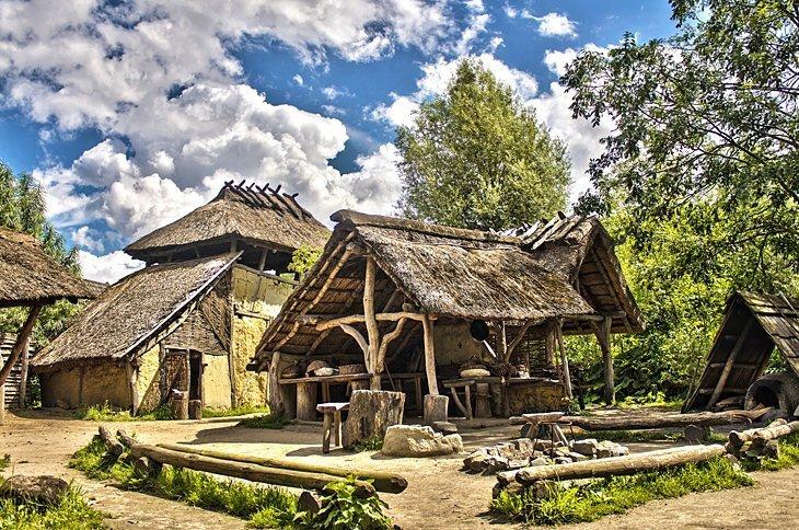 PreHistorisch Dorp (Sat preistoric)