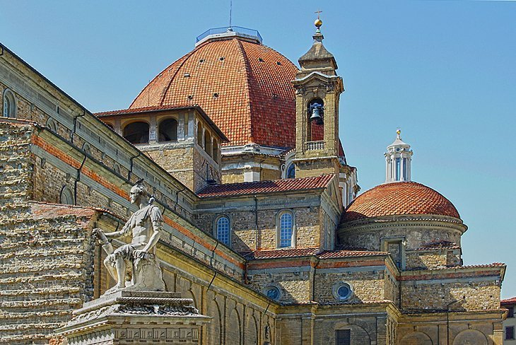 Mormintele Medici ale lui San Lorenzo și ale lui Michelangelo