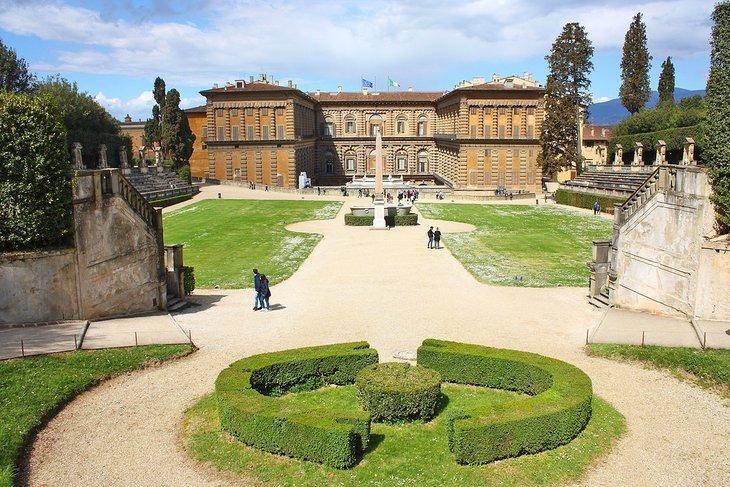 Palazzo Pitti (Palatul Pitti)