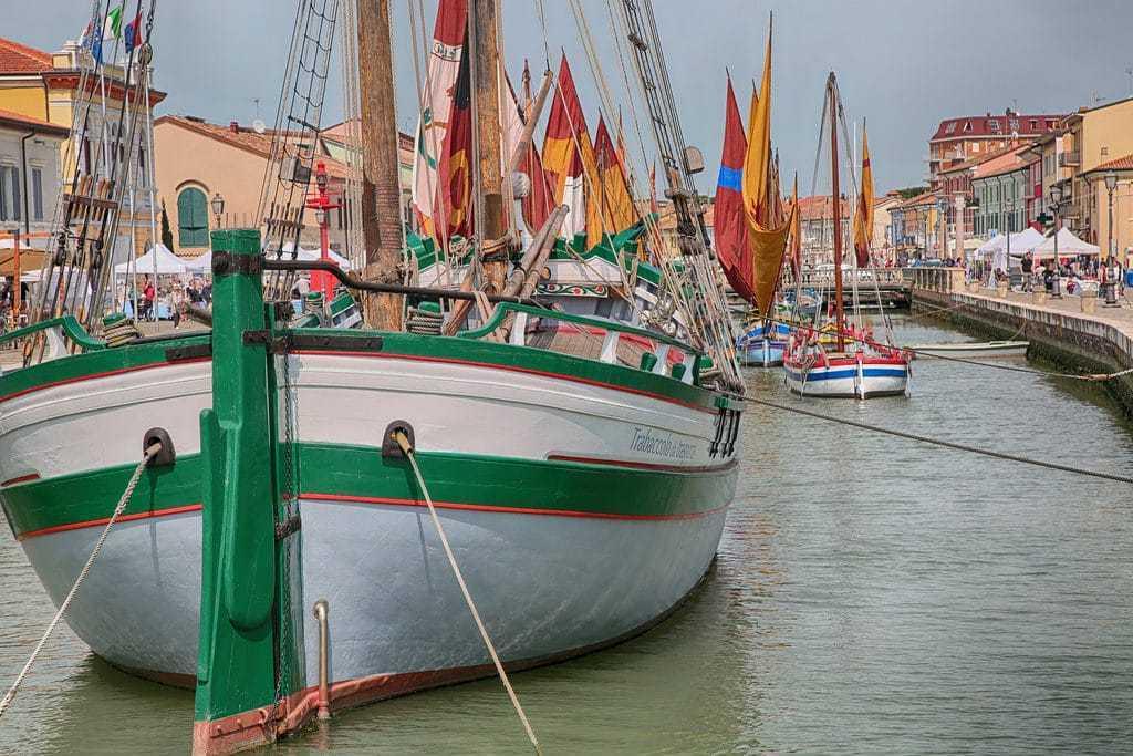 Vizitati orasul de coasta Cesenatico