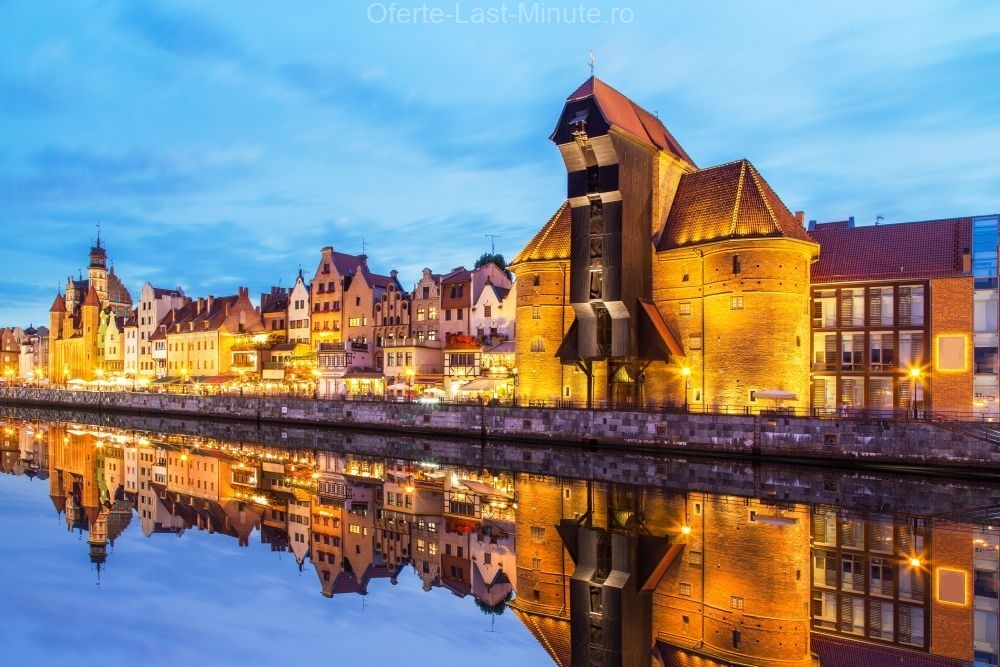Macaraua medievala din portul Gdansk