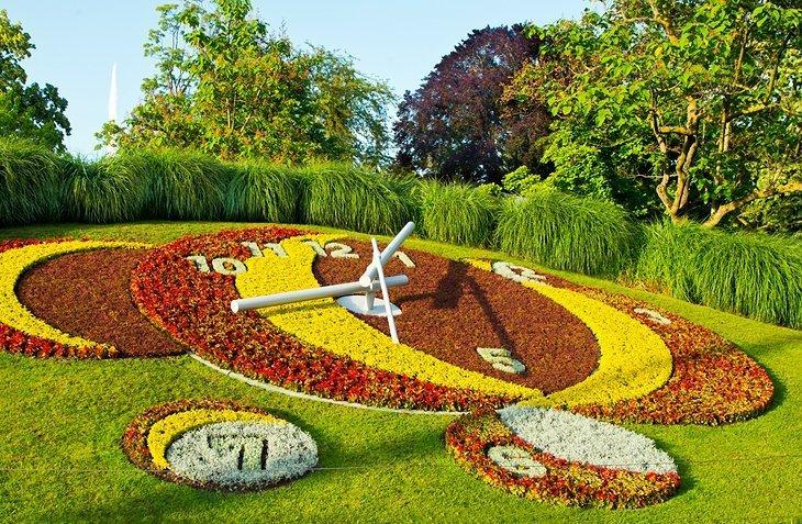 Jardin Anglais (grădina engleză) și Parc de la Grange