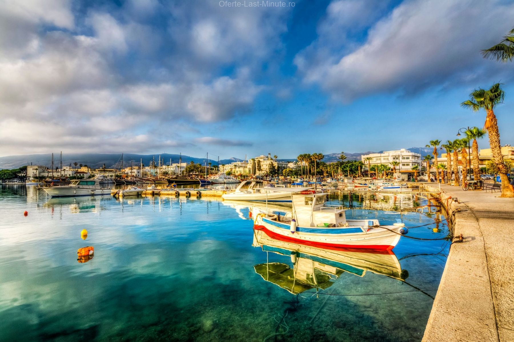 Orasul si portul Kos