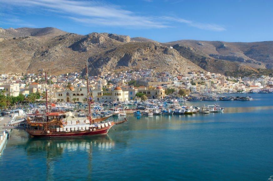 Faceți o croazieră cu barca la Kalymnos, Plati și Pserimos