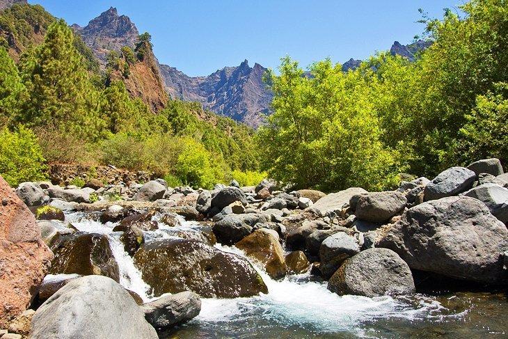 Parcul Național Caldera de Taburiente, La Palma