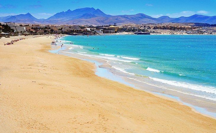 Plajele din Fuerteventura