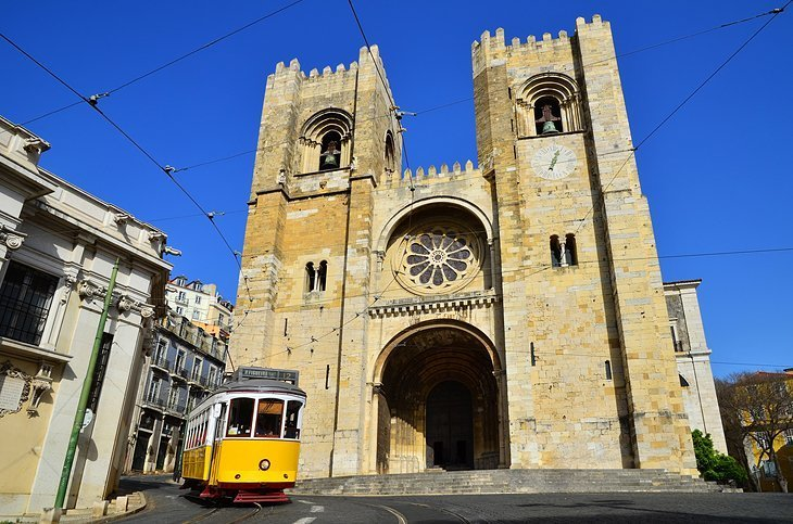 Sé: Catedrala impozantă din Lisabona