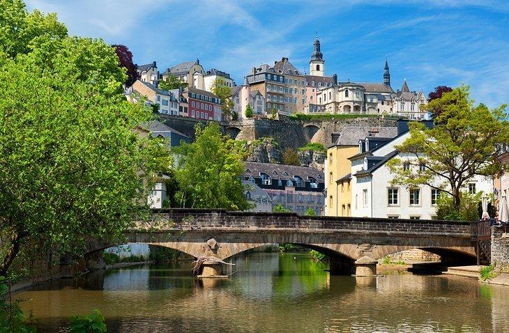 Cartierul vechi al orașului Luxemburg
