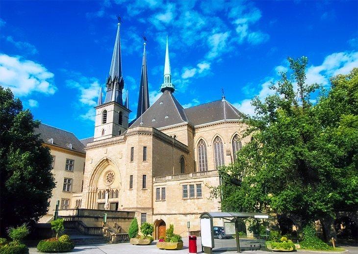 Catedrala Notre-Dame, orașul Luxemburg