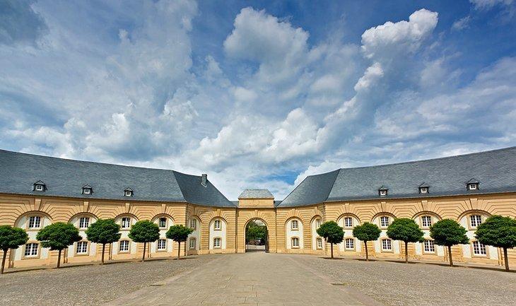 Echternach și mănăstirea sa benedictină