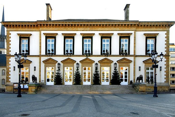 Locul Guillaume II, orașul Luxemburg