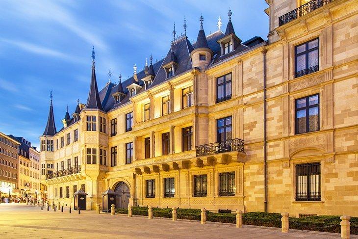 Palatul Mare Ducal, orașul Luxemburg