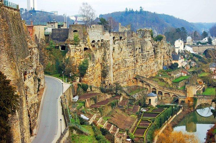 The Bock Casements, Luxemburg