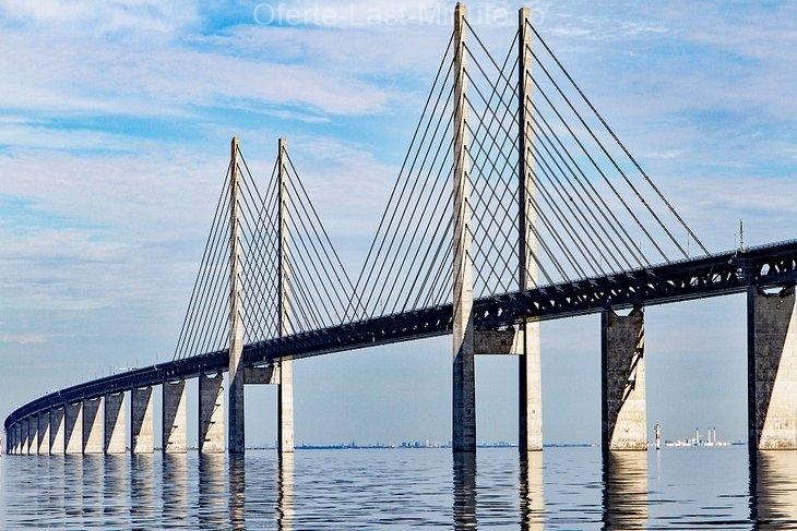 Cel mai lung pod rutier / feroviar din Europa: Podul Oresund