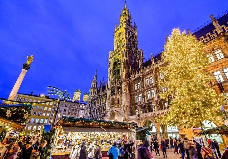 Cumpărați la piețele de Crăciun (Christkindlmarkts)