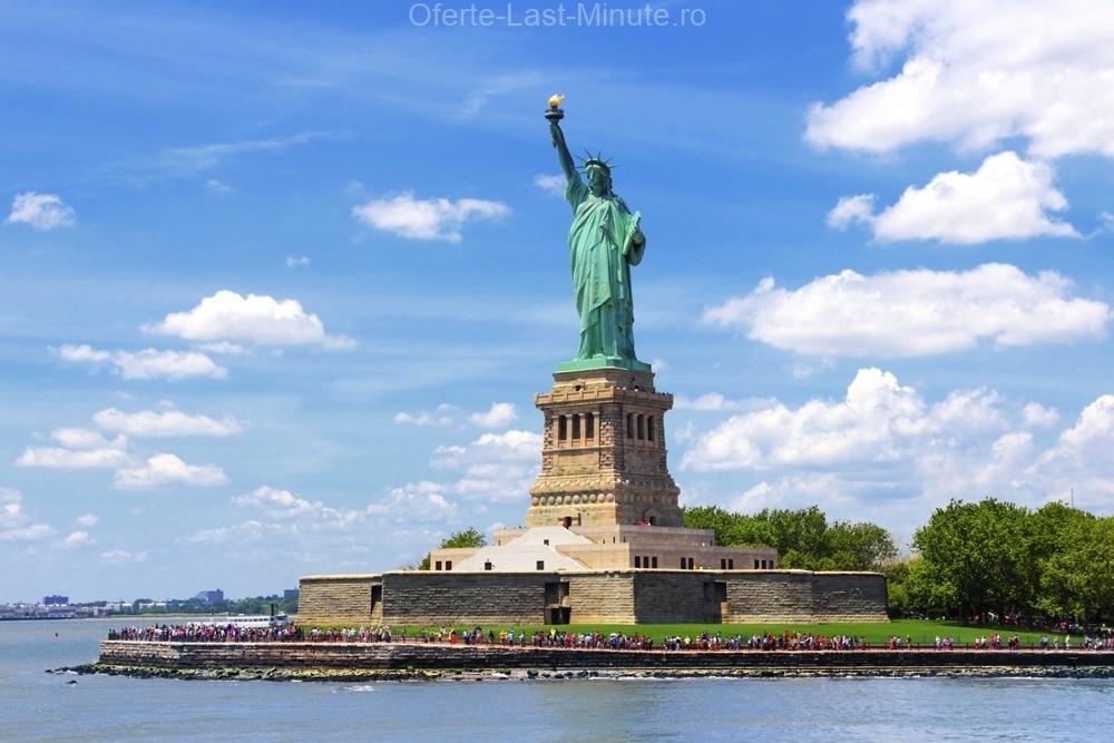 Insula Ellis si Statuia Libertatii
