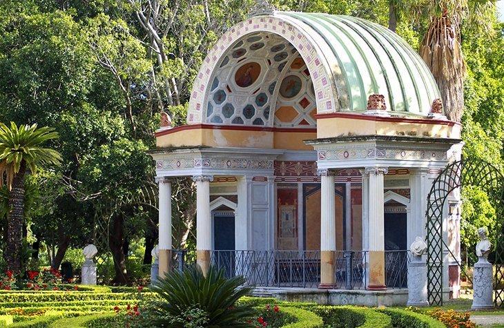 Foro Umberto I și Grădina Botanică