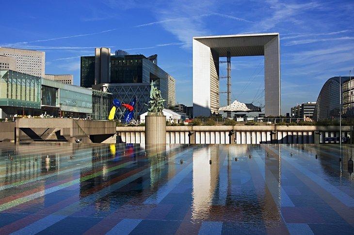 Grande Arche din La Défense