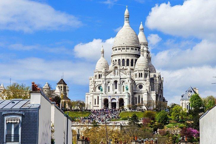 Sacré-Coeur și Quartier Montmartre