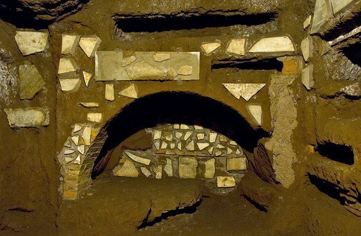 Catacombele și Via Appia Antica (Calea Appiană)