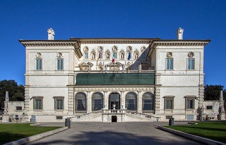Galeria și grădinile Villa Borghese
