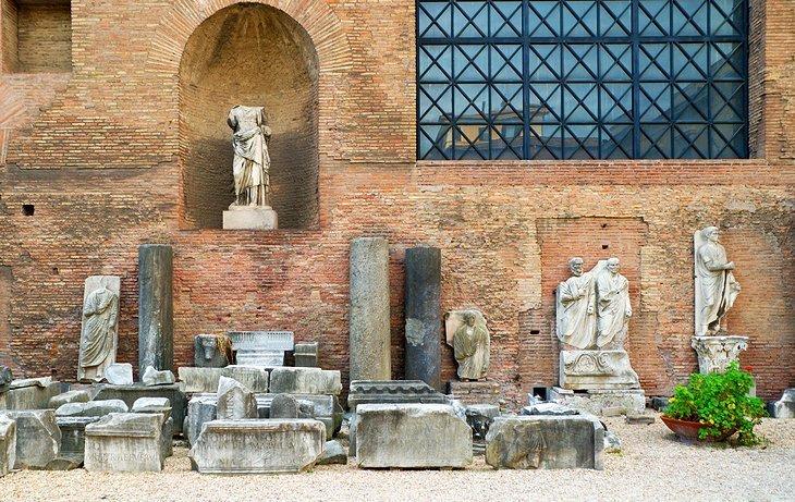 Terme di Diocleziano (Băile Muzeului Național al lui Dioclețian)