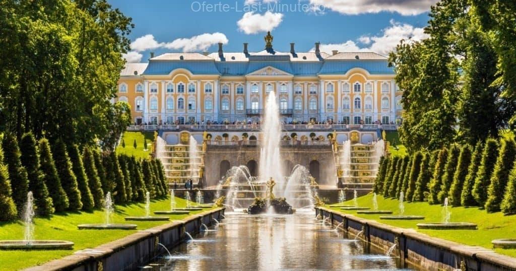 Palatul si Gradinile din Peterhof