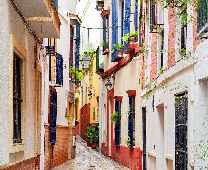 Barrio Santa Cruz: Cartierul cel mai fermecător din Sevilla