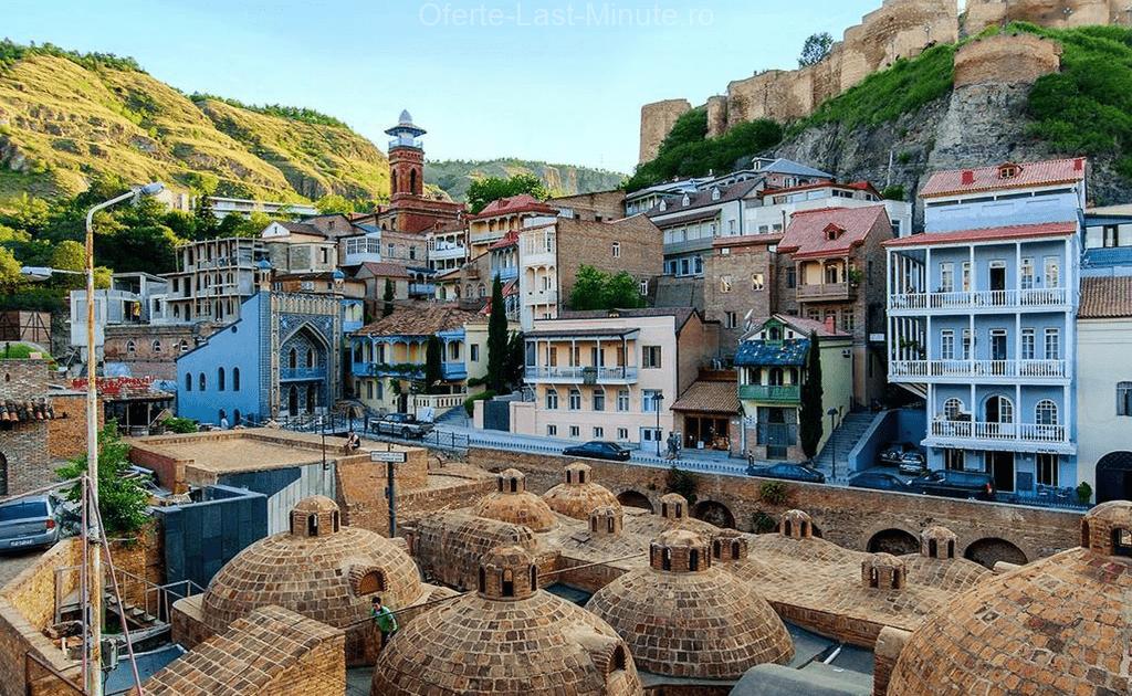 Casele rezidentiale din Centrul Vechi din Tbilisi