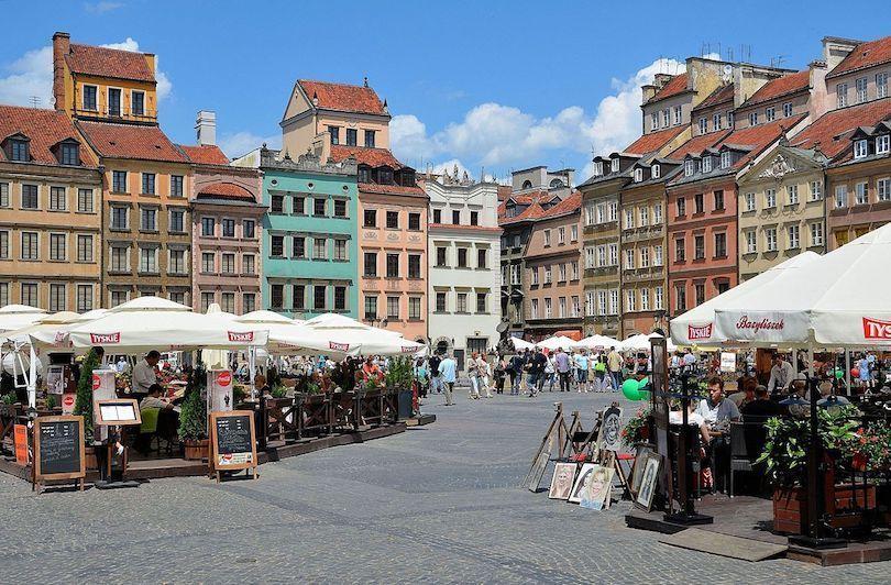 Piața orașului vechi