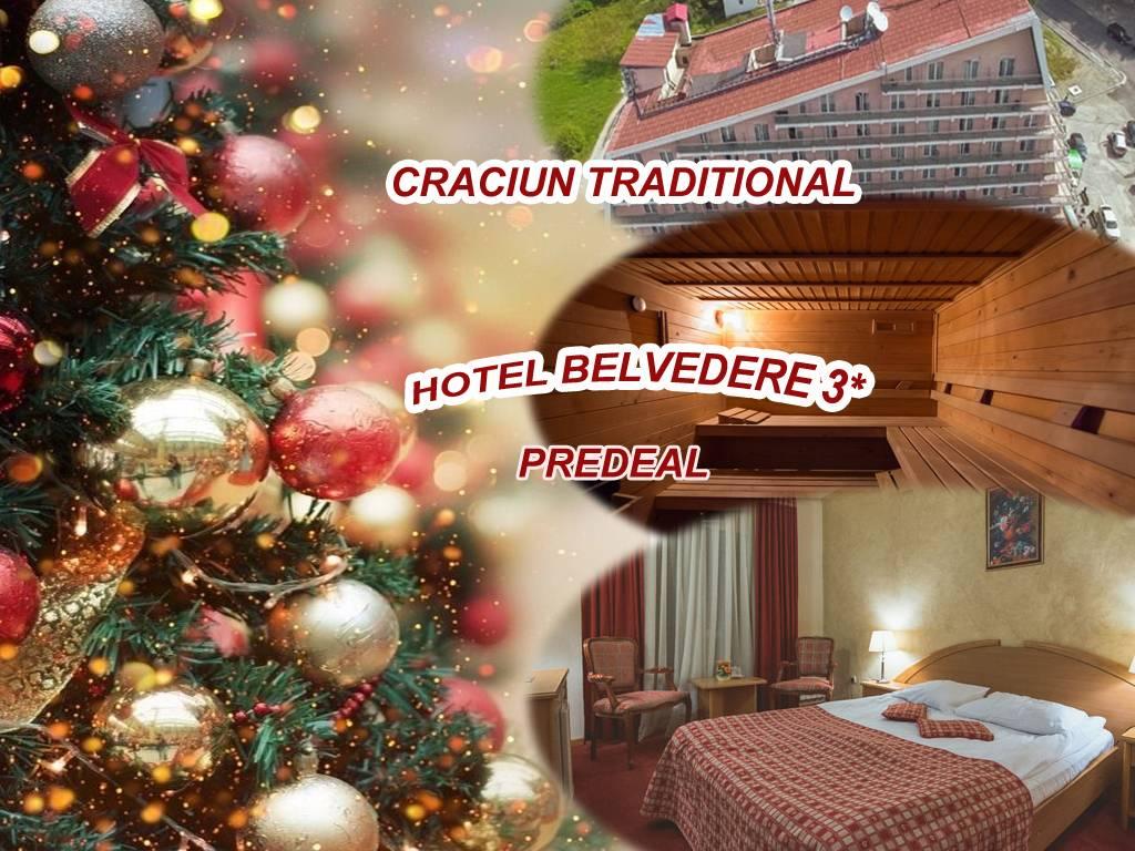 Oferta Craciun, Predeal, 3 nopti – 1.549 RON (include cazare + masa traditionala si Pomana porcului) – 2 persoane