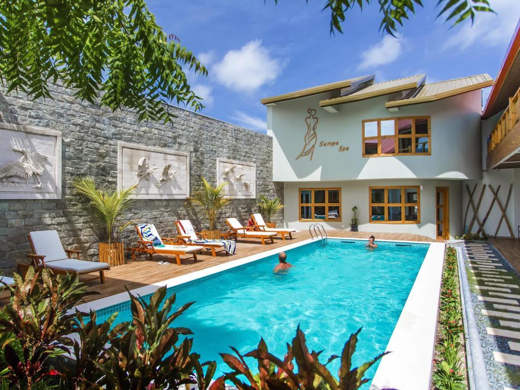 Oferta Cazare – Insula Maafushi, Maldive – Kaani Village & Spa 4* –  294 lei / noapte – mic dejun inclus – Februarie – Iunie 2021
