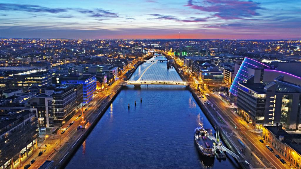Zboruri Bucuresti – Dublin – Octombrie 2021 – preturi incepand cu 35 eur (dus – intors)
