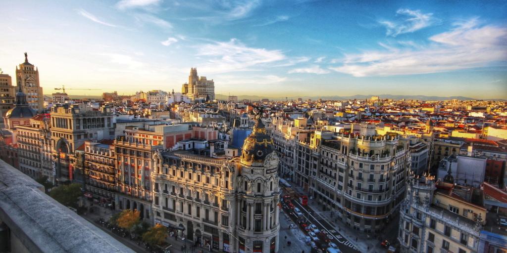 Zboruri ieftine spre Madrid, Spania – de la 47 EUR dus-intors