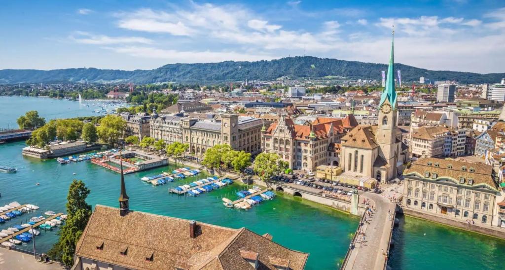 Zboruri ieftine catre Zurich, Elvetia la 120 euro (dus-intors)