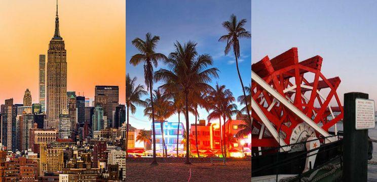 Zboruri ieftine catre New York si Miami, 308/348 euro (dus-intors)